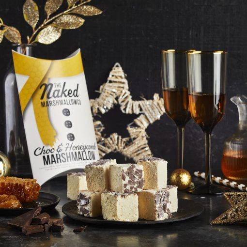 CHOCOLATE & HONEYCOMB GOURMET MARSHMALLOWS-[best_gifts_for_women]-[gifts_for_her]-[gifts_for_men]-Seventeen Minutes