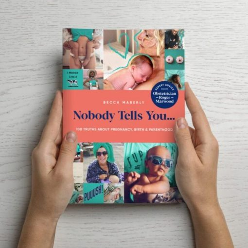 NOBODY TELLS YOU...100 TRUTHS ABOUT PREGNANCY, BIRTH & PARENTHOOD BOOK-[best_gifts_for_women]-[gifts_for_her]-Seventeen Minutes