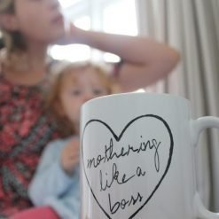 MOTHERING LIKE A BOSS MUG-[best_gifts_for_women]-[gifts_for_her]-Seventeen Minutes