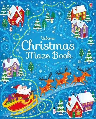 CHRISTMAS MAZE BOOK-[best_christmas_gifts_for_kids]-[christmas_gifts_for_children]-[christmas_ideas_for_kids]-Seventeen Minutes