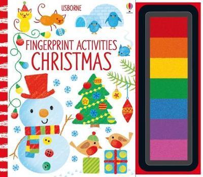FINGERPRINT ACTIVITIES CHRISTMAS BOOK