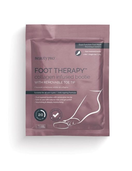 FOOT THERAPY COLLAGEN INFUSED BOOTIE-[best_gifts_for_women]-[gifts_for_her]-Seventeen Minutes