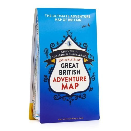 GREAT BRITISH ADVENTURE MAP-[best_gifts_for_men]-[gifts_for_him]-Seventeen Minutes