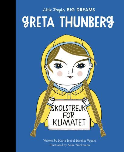 LITTLE PEOPLE, BIG DREAMS BOOK - GRETA THUNBERG-[best_gifts_for_women]-[gifts_for_her]-Seventeen Minutes