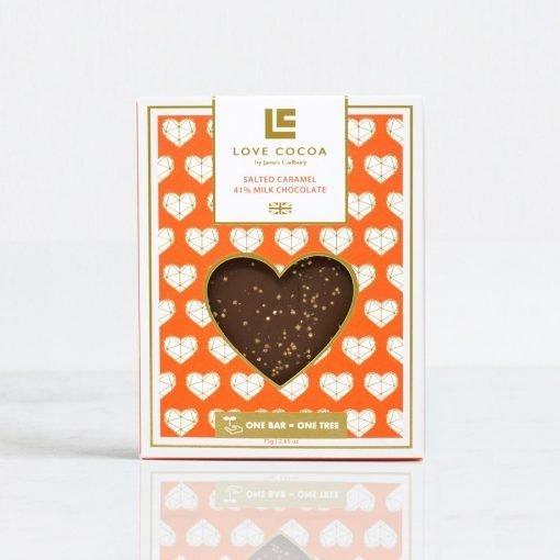 VD LOVE SALTED CARAMEL CHOCOLATE BAR