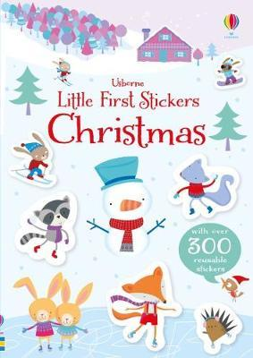 LITTLE FIRST STICKERS CHRISTMAS BOOK-[best_christmas_gifts_for_children]-[thoughtful_gifts_for_kids]-[christmas_gift_ideas_for_children]-Seventeen Minutes