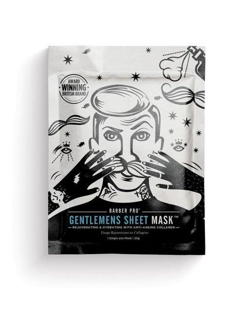GENTLEMEN'S SHEET MASK REJUVENATING & HYDRATING-[best_gifts_for_women]-[gifts_for_her]-Seventeen Minutes