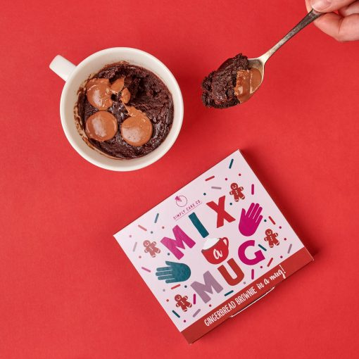 GINGERBREAD BROWNIE IN A MUG MIX-[best_gifts_for_her]-[thoughtful_gifts_for_her]-[gift_ideas_for_women]-Seventeen Minutes