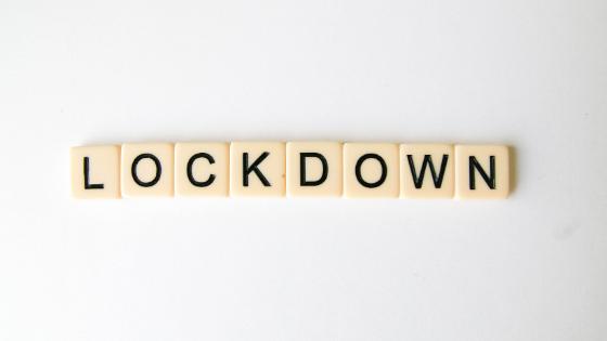 Lockdown life. It's hard.