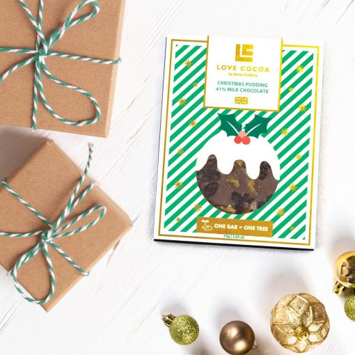 CHRISTMAS PUDDING CHOCOLATE BAR-[best_christmas_gifts_for_her]-[christmas_gifts_for_her]-[christmas_ideas_for_him]-Seventeen Minutes