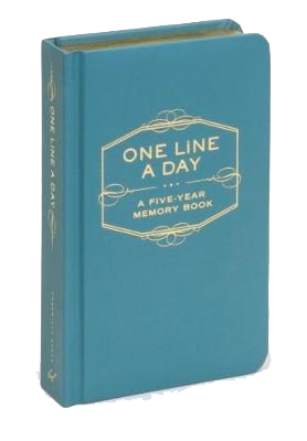 ONE LINE A DAY: FIVE-YEAR MEMORY BOOK-[best_gifts_for_women]-[gifts_for_her]-Seventeen Minutes