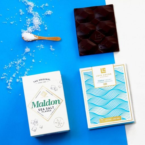 LOVE COCOA SEA SALT CHOCOLATE