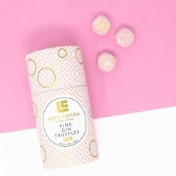 PINK GIN LUXURY CHOCOLATE TRUFFLES-[best_gifts_for_women]-[gifts_for_her]-Seventeen Minutes