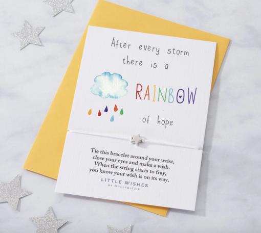 'Rainbow of Hope' Wish Bracelet