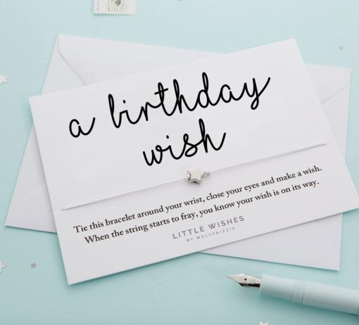 'A Birthday Wish' Wish Bracelet