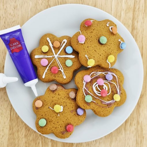 DECORATE YOUR OWN GINGERBREAD FLOWERS