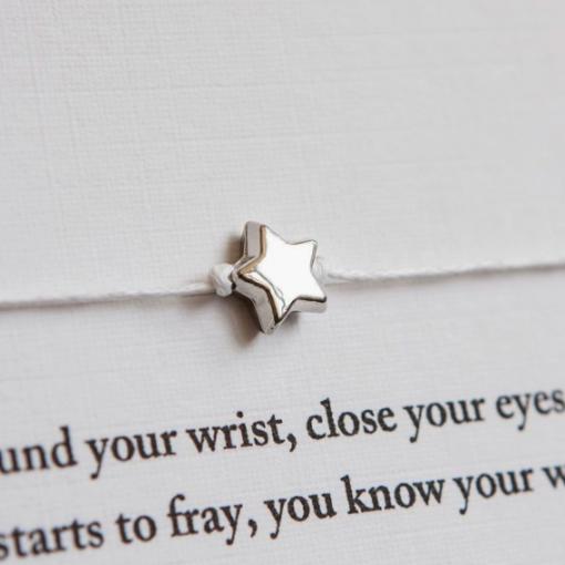 'She Believed She Could' Wish Bracelet