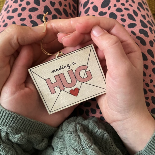 HUG Wooden Decoration